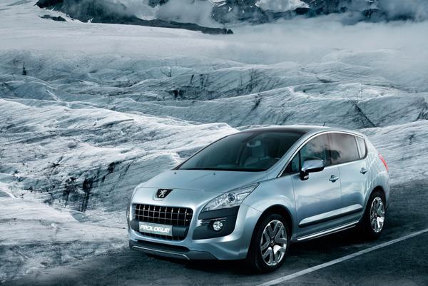 Peugeot PROLOGUE - hybrid nové generace