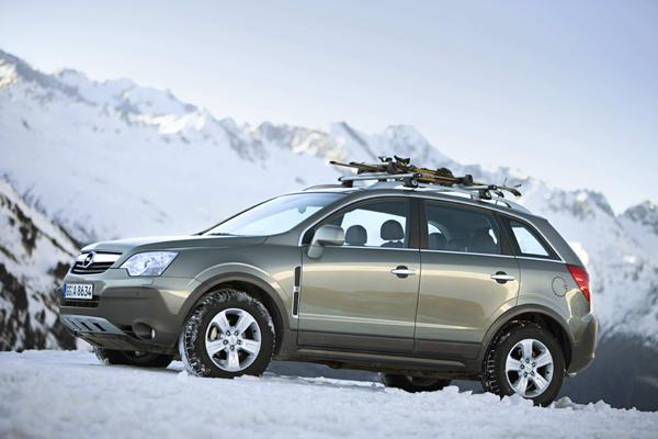 Nový Opel Antara s pohonem předních kol