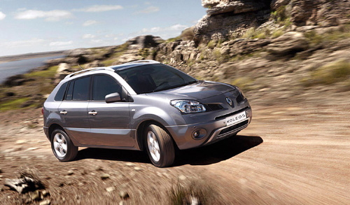 Renault Koleos a nová Laguna