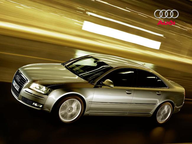 Limuzíny Audi A8 pro summit EU