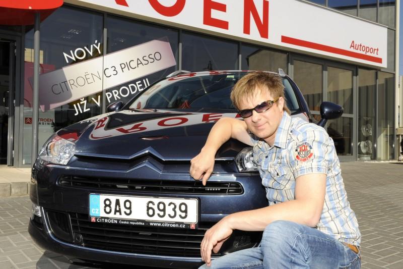 Petr Kotvald oslaví půlstoletí v novém Citroënu C5 Tourer
