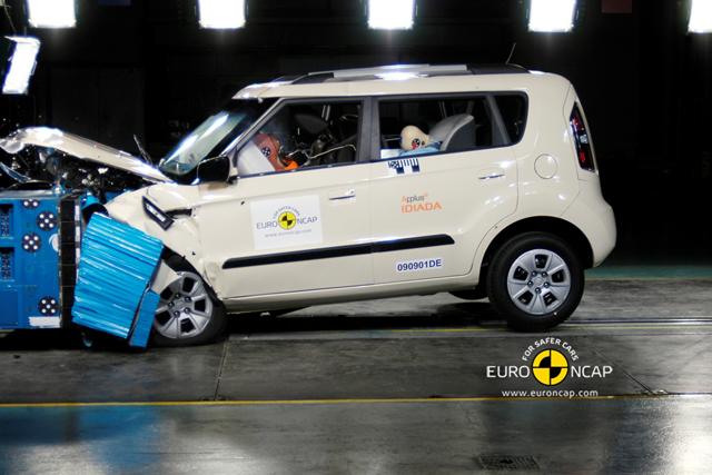 Kia Soul získal 5 hvězdiček Euro NCAP