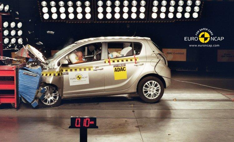 Hyundai i20 získal 5* v testech Euro NCAP