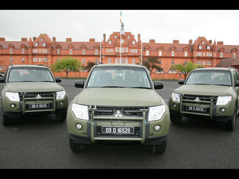 Irská armáda zvolila Mitsubishi Pajero