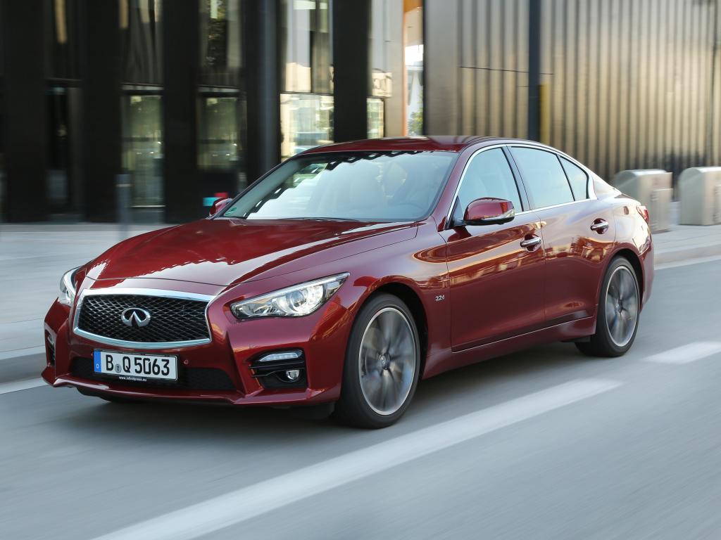 Infiniti Q50 mezi finalisty světového auto roku 2014