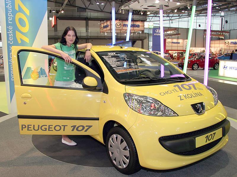 Iva Frühlingová čeká na Peugeot 107