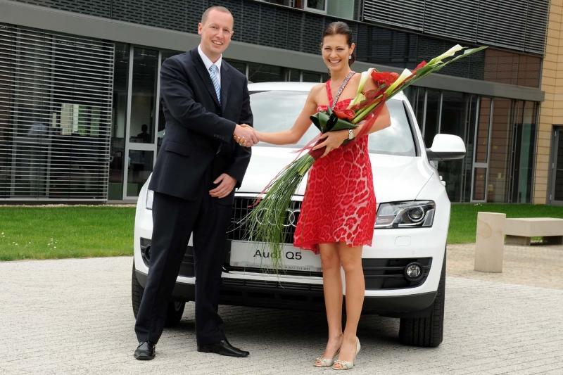 Jana Doleželová s Audi Q5