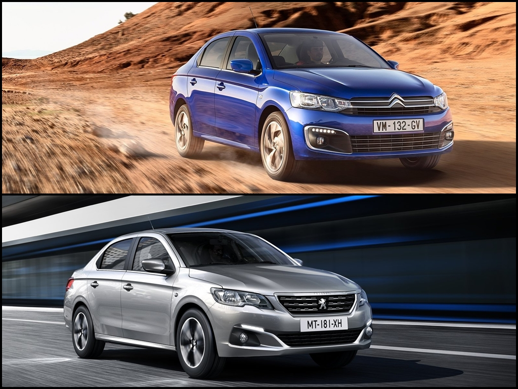 Je výhodnější Citroën C-Elysée nebo Peugeot 301?