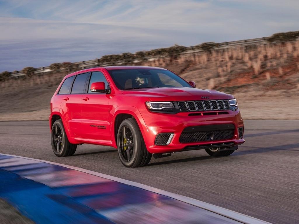 Jeep Grand Cherokee Trackhawk - znáte rychlejší SUV?