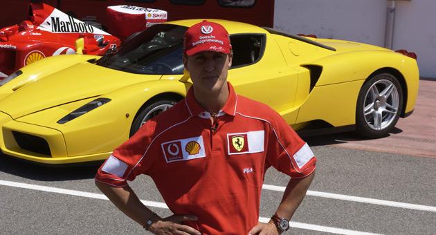 Kdo vyhrává? Ferrari, nebo Schumacher?