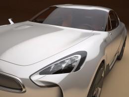 První fotografie konceptu sportovního sedanu Kia
