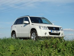 Test: Suzuki Grand Vitara - poslední mohykán