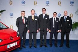 Dvě ocenění Volkswagen Service Quality Award putují do Česka