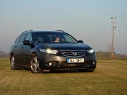 Test: Honda Accord Tourer LifeStyle - král v zapomnění