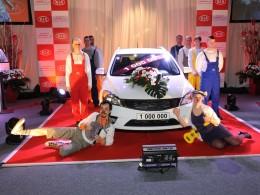 Kia Motors Slovakia vyrobila miliontý vůz