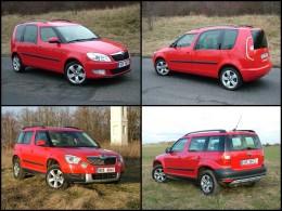 Test: Škoda Yeti vs. Roomster - duel základních motorizací