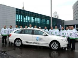 Škoda již 20 let podporuje mistrovství světa IIHF