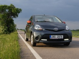 Test: Toyota Aygo - první z trojčat