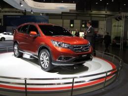 Autosalon Lipsko - Honda CR-V a Opel Mokka