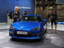 Autosalon Lipsko - Subaru BRZ a Toyota GT86