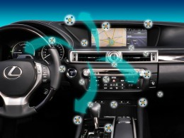 Interi�r nov�ho Lexusu GS ocen�n za inovace
