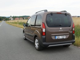 Test: Peugeot Partner Tepee Outdoor - p�ipraven pro rodinn� �ivot