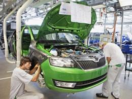 Výroba modelu Škoda Rapid zahájena