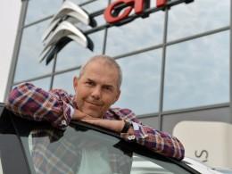 Marek Eben je věrný Citroënu