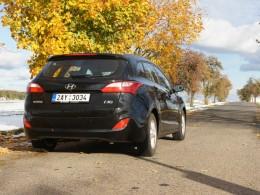 Test: Hyundai i30 kombi 1.6 CVVT - s batohem na zádech