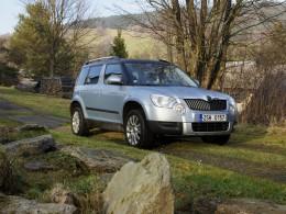 Test: Škoda Yeti - stále dostupnější horal