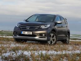 Test: Honda CR-V komfort v první řadě