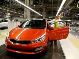 Zahájena výroba modelu Kia pro_cee´d