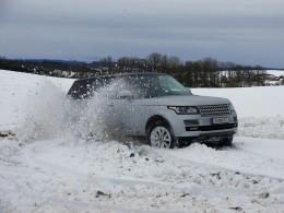 První zkušenost s novým Range Roverem