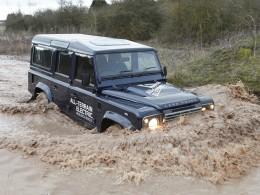 Elektrický Land Rover Defender je realitou