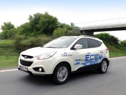 Hyundai ix35 Fuel Cell jezdí na vodík