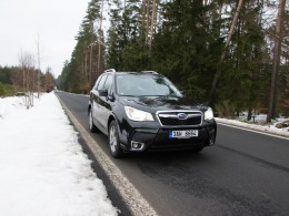 Subaru Forester 2013 - první jízda (+video)