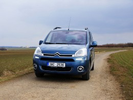 Test: Citroën Berlingo Multispace - uveze sedm pasažérů
