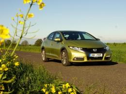 Test: Honda Civic 1.6 i-DTEC - zabiják hybridů