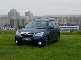 Test: Subaru Forester 2.0 XT - hra na foukanou