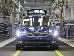 Výroba modernizovaného modelu Škoda Superb zahájena