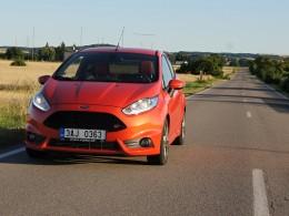 Test: Ford Fiesta ST - Srdcová Technika