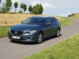 Test: Mazda 6 Wagon 2,2 SkyActiv-D