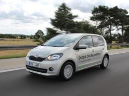 Škoda Citigo CNG umí 2.619 km za 81 EUR