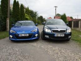 Test spotřeby: Subaru BRZ vs. Škoda Octavia Combi