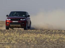 Range Rover Sport stanovil nový pouštní rekord