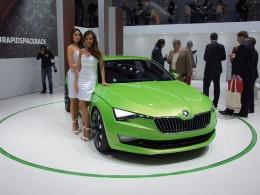 AUTOSALON ŽENEVA 2014 - Škoda VisionC, další modely Monte Carlo a Octavia Scout