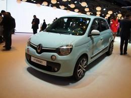 AUTOSALON ŽENEVA 2014 - Renault Twingo s motorem vzadu živě