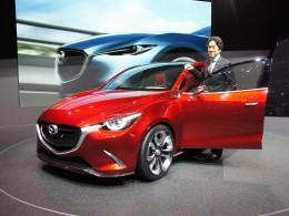AUTOSALON ŽENEVA 2014 - Mazda Hazumi, aneb předobraz nové Mazda 2