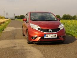 Test: Nissan Note 1.2 - vlastní cestou