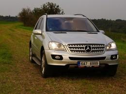 Recenze ojetiny: Mercedes Benz ML W164 - luxus za cenu Octavie